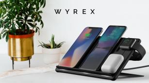 WYREX одновременная зарядка 4-х устройств!