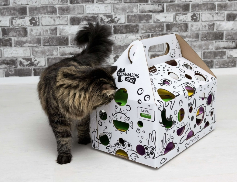 Охотничий домик для кота