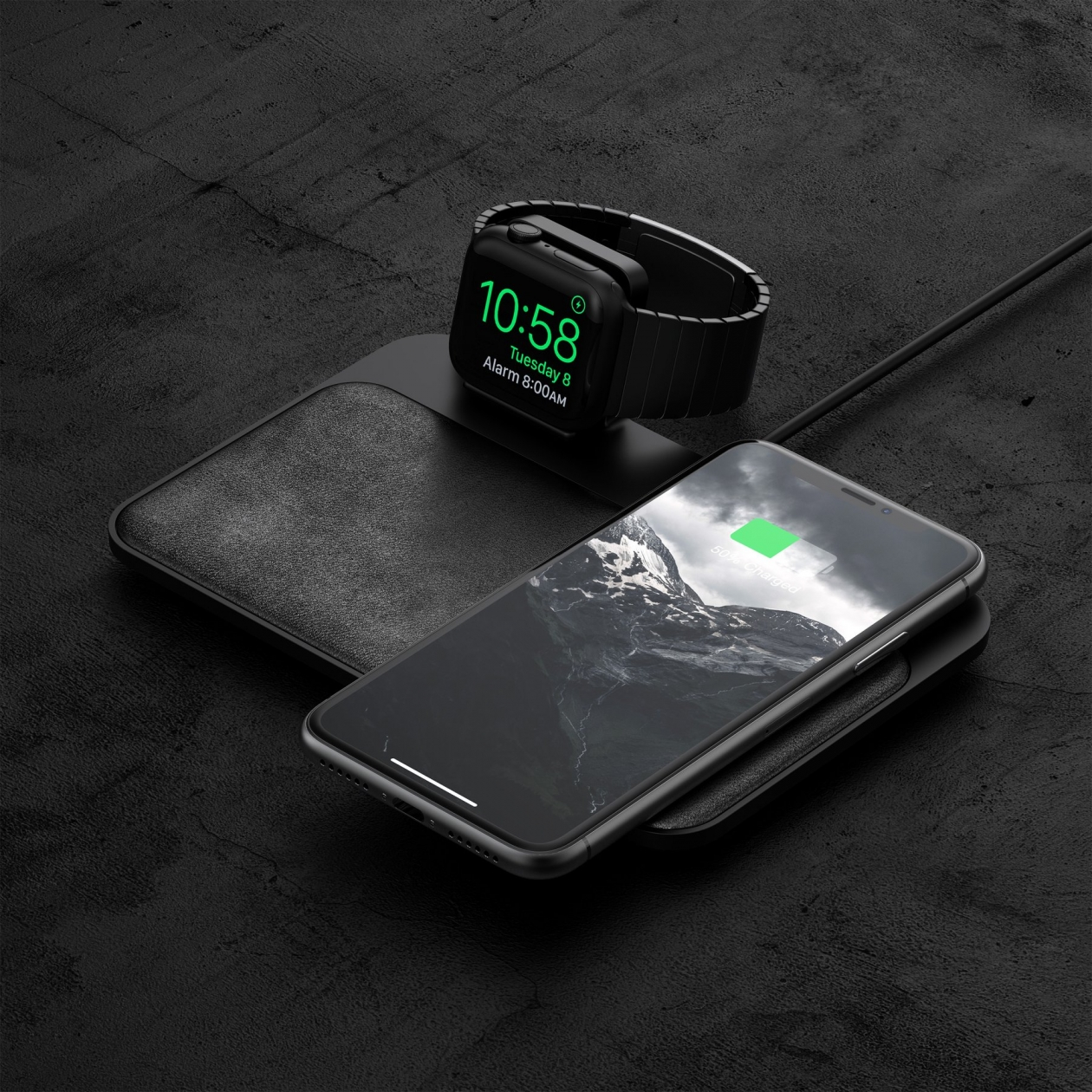 Обзор Nomad Base Station Apple Watch Edition