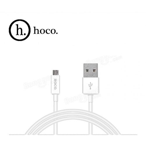 USB кабель HOCO UPM01 Micro 1,2м. Цвет Белый