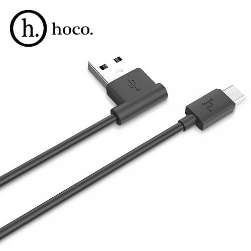 USB кабель HOCO UPM10 Micro 1,2м. Цвет: Чёрный
