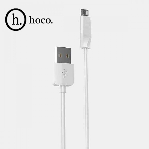 USB кабель HOCO X1 Micro 1м Цвет: Белый