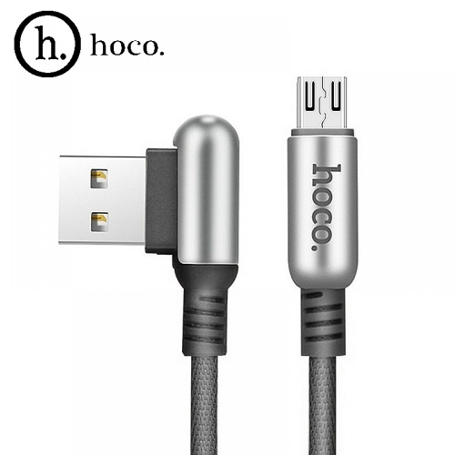 USB кабель micro HOCO U17 1,2 м Цвет: Чёрный