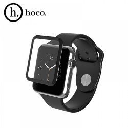 Защитное стекло HOCO для Apple Watch 42 mm Full Rim Tempered Glass