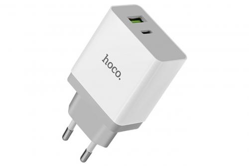 Зарядное устройство HOCO C24A 18W QUICK CHARGE(QC) 3.0 + Type C