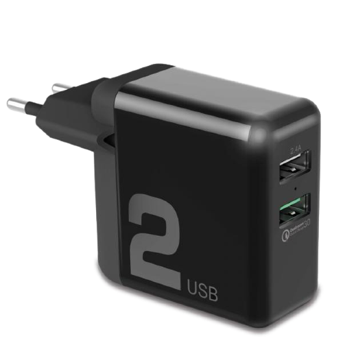 Сетевая зарядка Rock T13 30W Quick charge (QC) 3.0 Travel Charger