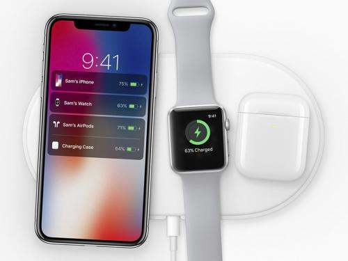 AirPower 3 в 1 - беспроводная зарядка для Iphone Apple Watch и Ipods