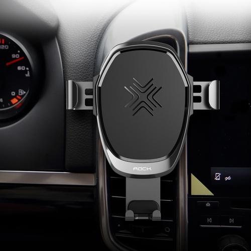 Автомобильная беспроводная зарядка Rock RWC0246 Car Gravity Mount