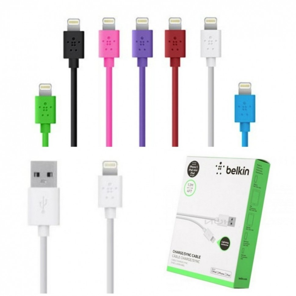 Кабель Belkin Mixit Charge iPad Cable 722868959671