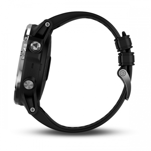 Garmin Descent Mk1 Sapphire серебристые с черным ремешком