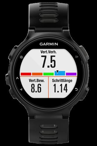 Garmin Forerunner 735XT черно-серые