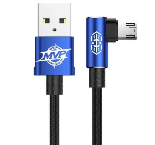 Кабель Baseus MVP Elbow Type micro-USB