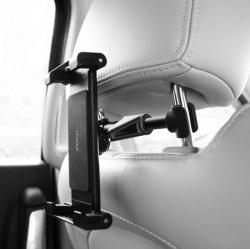Держатель для планшета в машину на подголовник Rock Universal Stretchable Car Headrest Mount