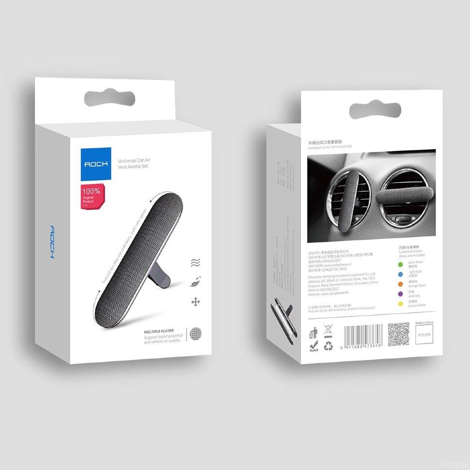 Ароматизатор автомобильный Rock Universal Car Air Vent aroma set